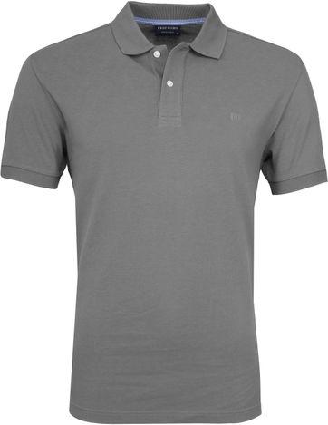 Profuomo Poloshirt Grau