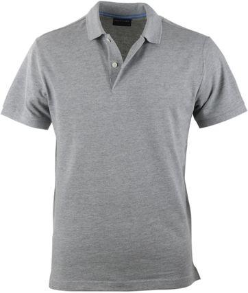 Profuomo Poloshirt Grijs