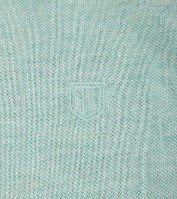 Detail Profuomo Poloshirt Groen