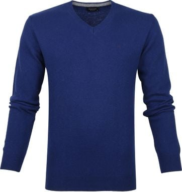 Profuomo Pullover Blau