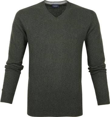Profuomo Pullover Donkergroen