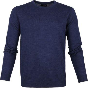 Profuomo Pullover O-Neck Blue