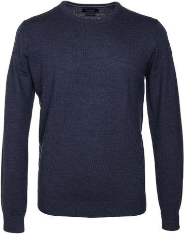 Profuomo Pullover O-Neck Dark Blue