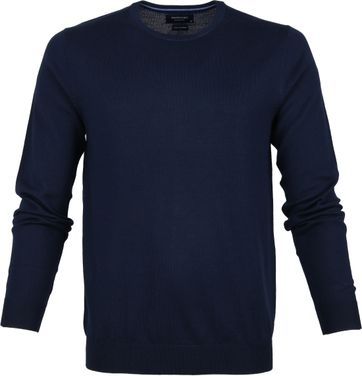 Profuomo Pullover O-Neck Dark Blue