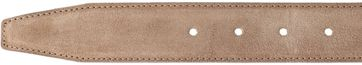 Detail Profuomo Riem Suede Taupe