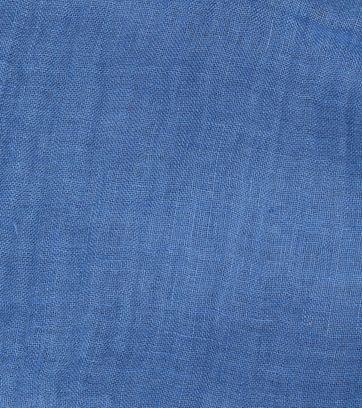 Profuomo Scarf Linen Woven Blue