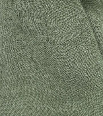 Profuomo Scarf Linen Woven Green