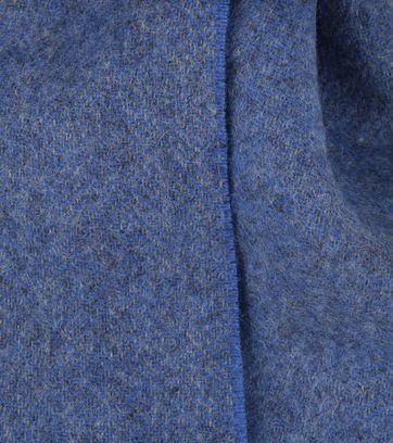 Profuomo Scarf Woven Blue
