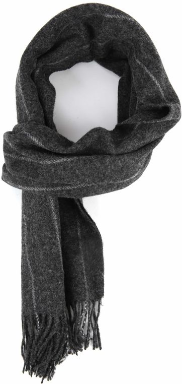 Profuomo Schal gewebt Grau
