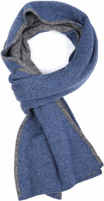 Profuomo Schal Melange Blue