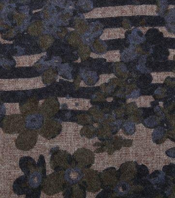 Profuomo Schal Woven Blumen