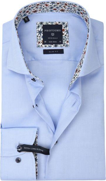 Profuomo SF Overhemd Blauw SL7