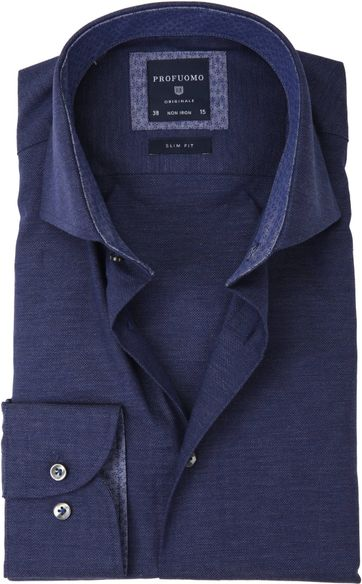 Profuomo SF Overhemd Navy