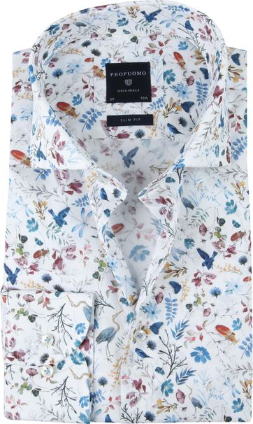 Profuomo SF Shirt Flowers