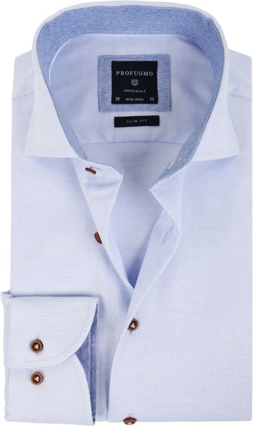 Profuomo Shirt Blue SF