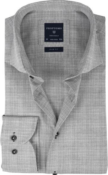 Profuomo Shirt CAW Melange Grey