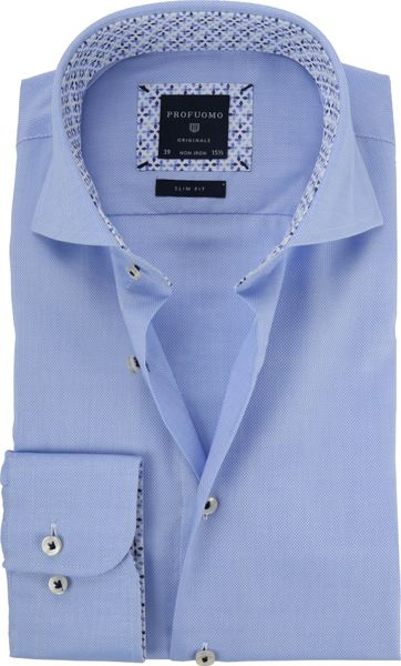 Profuomo Shirt CAW Oxford Blue