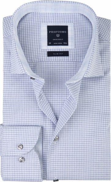 Profuomo Shirt CAW Pane Blue