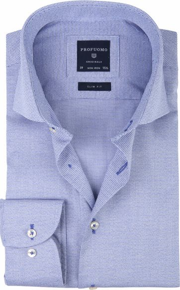Profuomo Shirt CAW PDP Blue