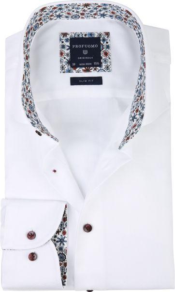 Profuomo Shirt CAW White