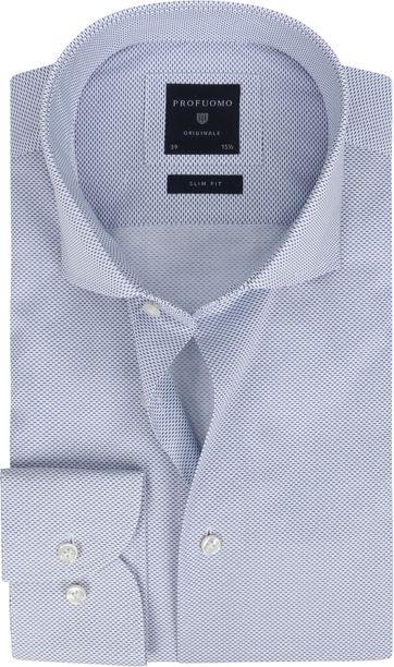Profuomo Shirt Cutaway SF Blue