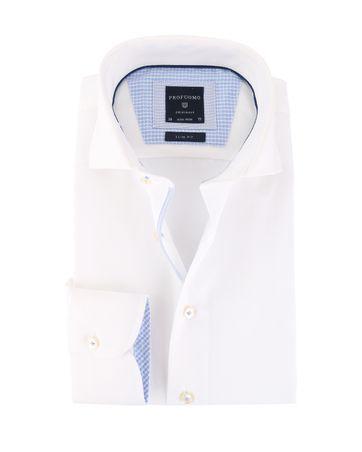 Profuomo Shirt Cutaway Wit