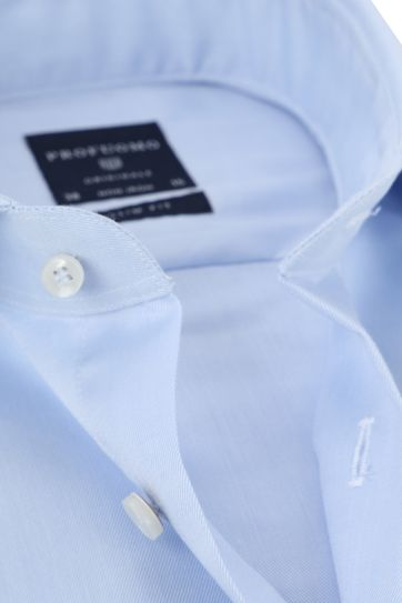 Profuomo Shirt Extra Long Sleeve Cutaway Light Blue