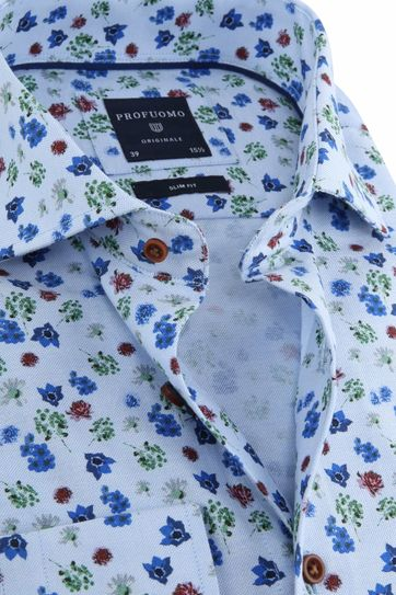 Profuomo Shirt Flower
