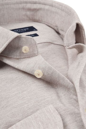 Profuomo Shirt Knitted Beige