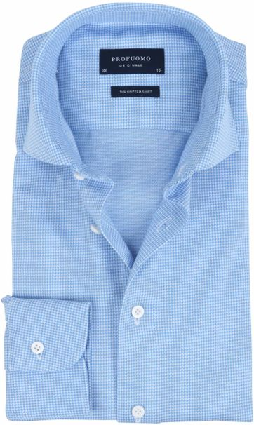 Profuomo Shirt Knitted Dessin
