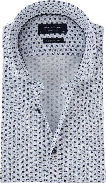 Profuomo Shirt Knitted Multicolour