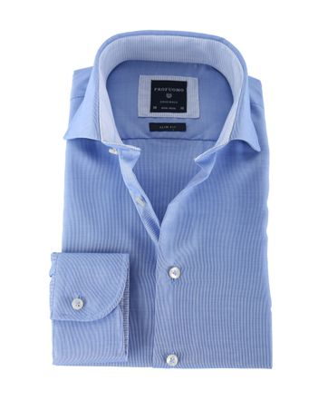 Profuomo Shirt Non Iron Blue