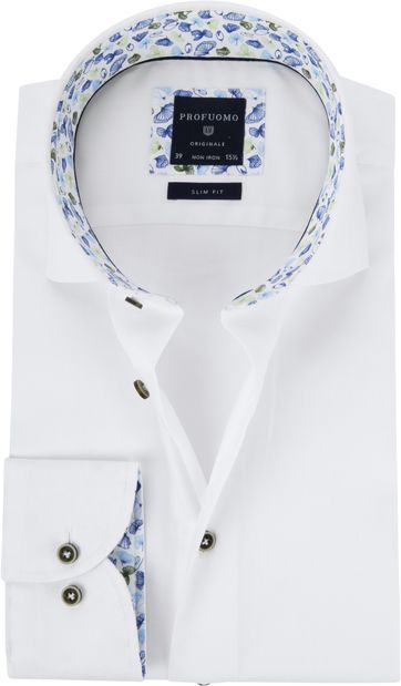 Profuomo Shirt SF Cutaway White