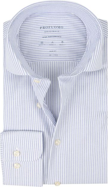 Profuomo Shirt SF Dobby Blue