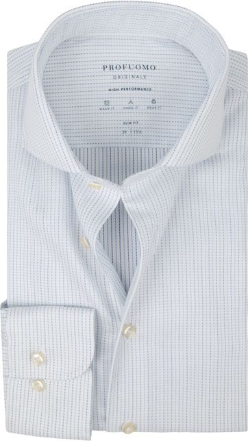 Profuomo Shirt SF Dobby White