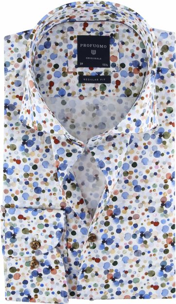 Profuomo Shirt SF Dots