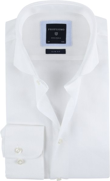 Profuomo Shirt SF Ice Cotton White