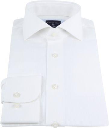 Profuomo Shirt SF Ice Cotton White
