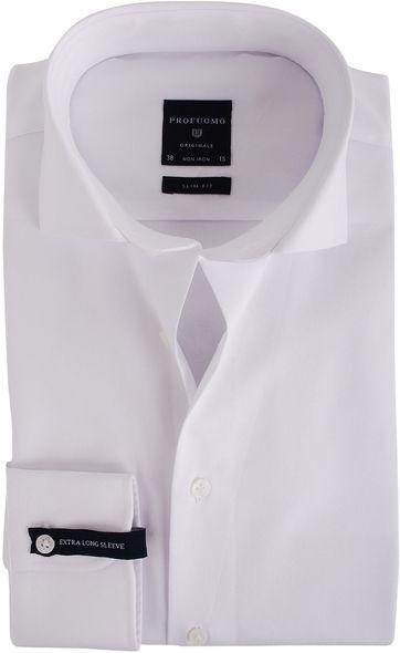 Profuomo Shirt SL7 Cutaway Wit