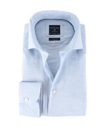Profuomo Shirt Strijkvrij Lichtblauw