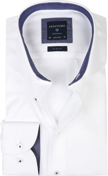 Profuomo Shirt Twill White