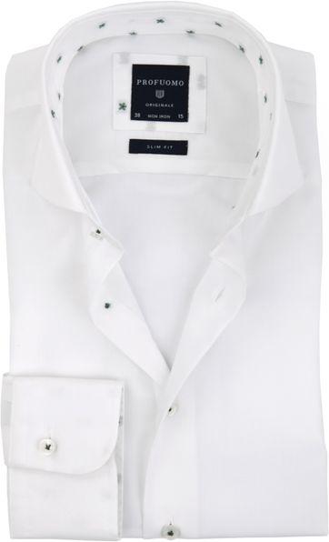 Profuomo Shirt White Dessin CAW