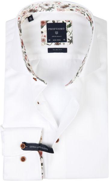 Profuomo Shirt White Twill SL7