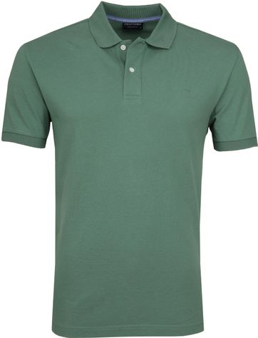 Profuomo Short Sleeve Polo Groen