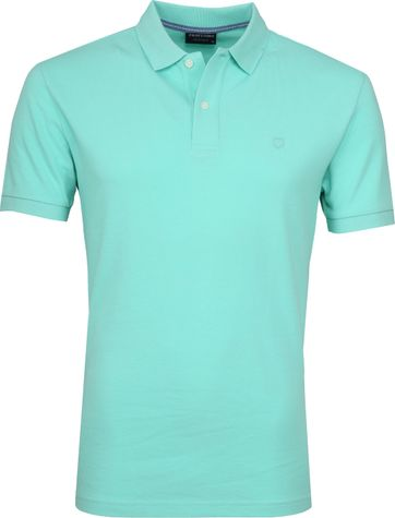 Profuomo Short Sleeve Polo Mint