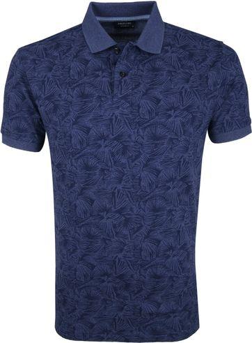 Profuomo Short Sleeve Polo Shirt Design Navy