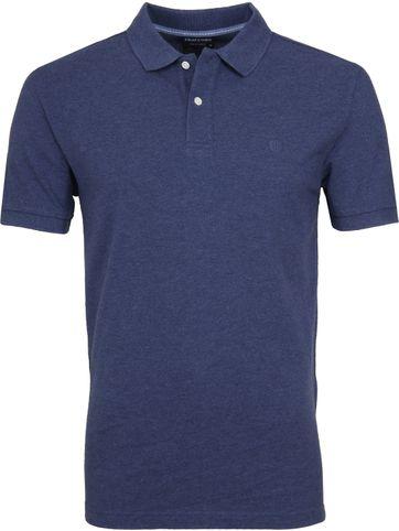 Profuomo Short Sleeve Polo Shirt Indigo