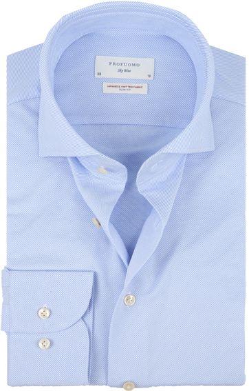 Profuomo Sky Blue SF Hemd Blau