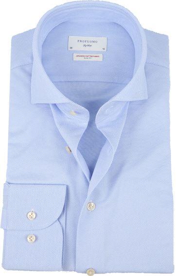 Profuomo Sky Blue SF Overhemd Blau