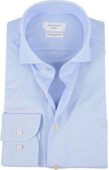 Profuomo Sky Blue SF Overhemd Blue